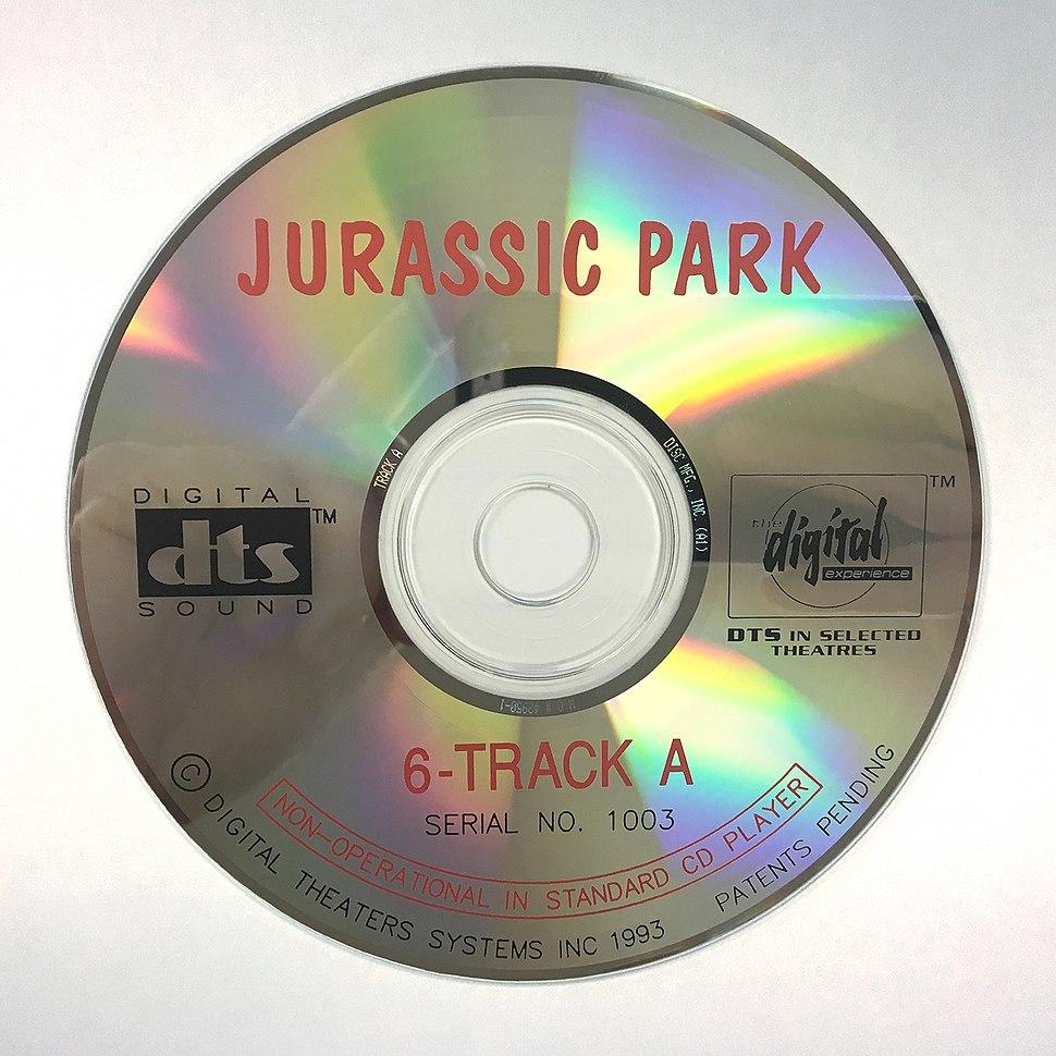 Jurassic Park DTS CD-ROM Disc (1993)