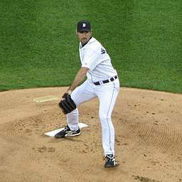 Justin Verlander on May 20, 2008