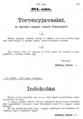 Képviselőházi irományok 1903. 384.számú iromány.png