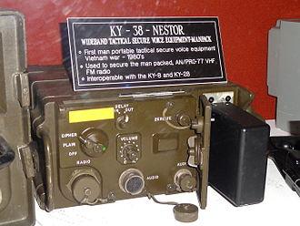 NESTOR (encryption) - KY-38, man-pack, with key loader