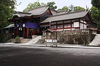 Kagoshima Shrine Shinto shrine in Kagoshima Prefecture, Japan