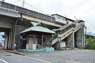 Kaifu Station - Image: Kaifu Station, ekisha