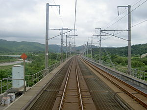 Kaikyo Line between Tappi-Kaitei Station and Tsugaru-Imabetsu Station.jpg