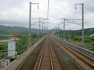 Kaikyō Line - Kaikyō Line (Tappi-Kaitei - Tsugaru-Imabetsu) prior to the conversion to dual-gauge