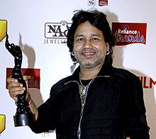 Kailash Kher 61st Filmfare Awards South (cropped).jpg