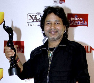 Kailash Kher 61st Filmfare Awards South (cropped)