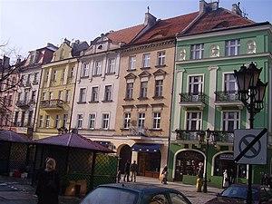 Kalisz Region - Image: Kalisz kamienice w rynku