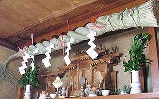 <i>Kamidana</i> Shinto altar