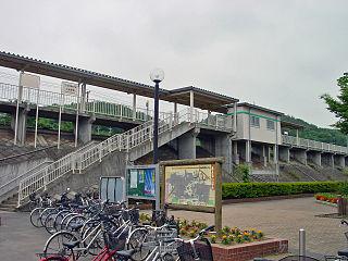 Kamihobara Station Railway station in Date, Fukushima Prefecture, Japan