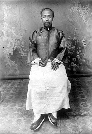 Kang Youwei - Kang Youwei, circa 1920