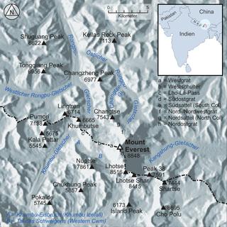 Kangshung Glacier