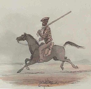 Khoikhoi - Khoi marksmen played a key role in the Cape Frontier Wars