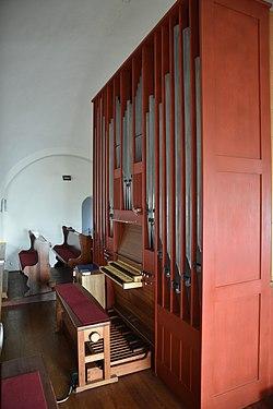 Kath Pfarrkirche Hl Herz-Jesu Mettersdorf am Saßbach Interior 09.jpg