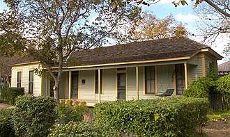Katherine Anne Porter - Porter's childhood home in Kyle was added to the National Register of Historic Places in 2004.