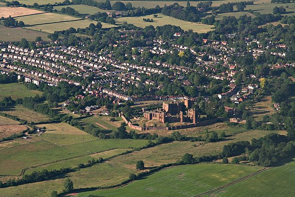 Slighting could extend beyond the building, and when Kenilworth Castle was slighted in 1649 the moat was drained.[2]