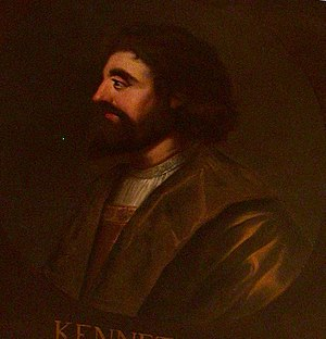 Kenneth II of Scotland - Image: Kenneth II of Scotland (Holyrood)
