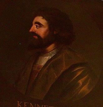 Kenneth II of Scotland - Image: Kenneth II of Scotland (Holyrood)