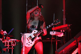 "Get Sleazy Tour - Kesha performing ""Fuck Him He's a DJ"" in Sydney, Australia."