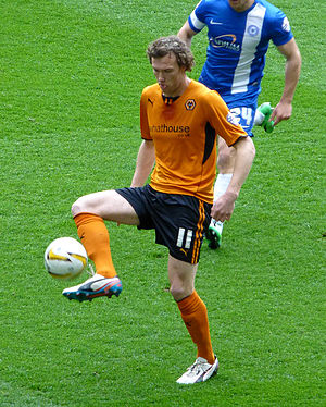 Kevin McDonald (footballer, born 1988) - McDonald playing for Wolverhampton Wanderers in 2014