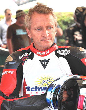 Kevin Schwantz - Schwantz at a demonstration event in 2010