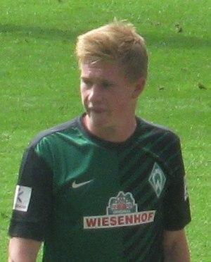 Kevin De Bruyne - De Bruyne during his spell with Werder Bremen in 2012