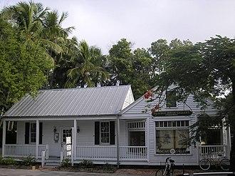 Audubon House and Tropical Gardens - Image: Key West FH010011