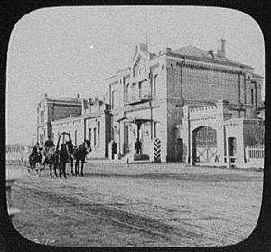 Khabarovsk - Khabarovsk - residence of the governor-general of Eastern Siberia 1895