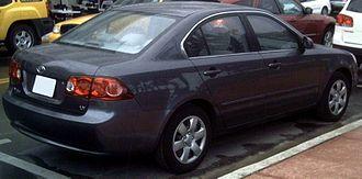 Kia Optima - Kia Optima LX (US; pre-facelift)