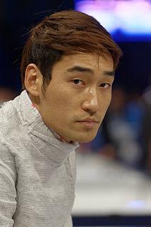 Kim Jung-hwan (fencer) South Korean fencer