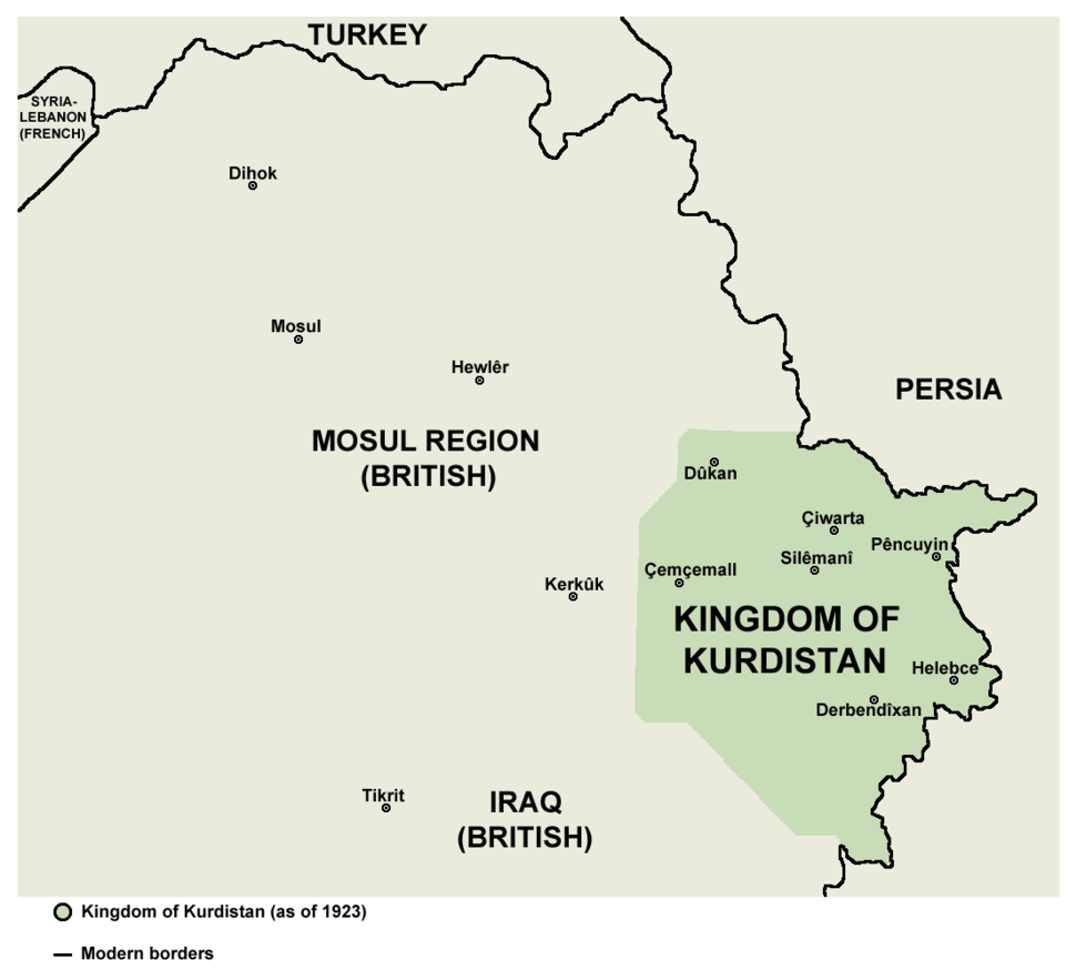 Kingdom of Kurdistan (1923)
