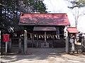 Kinoshita Hakusan-jinja Haiden 2008-04.JPG