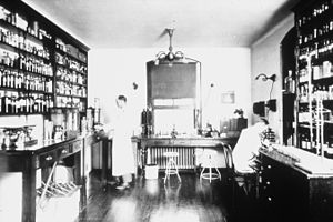 National Institutes of Health - The Laboratory of Hygiene in 1887