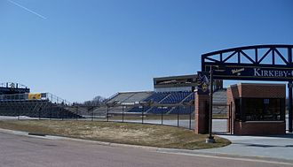 Augustana University - Kirkeby–Over Stadium, seats over 6,500 fans.