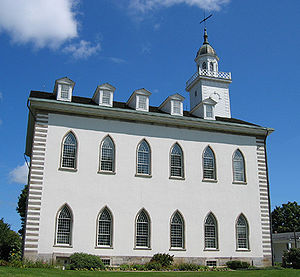 Temple (Latter Day Saints) - The Kirtland Temple, owned and maintained by the Community of Christ, was the first temple of the Latter Day Saint movement and the only temple completed in the lifetime of Joseph Smith