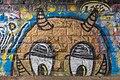Klagenfurt Tarviser Strasse Eisenbahnbrucke Goldkopf-Graffiti 19012016 0226.jpg