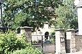 Klein Oschersleben (Oschersleben), entrance to the Lutheran Church.jpg