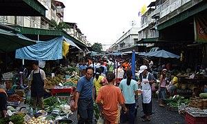 Khlong Toei District - Klong Toei Market