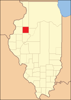 Knox County, Illinois - Image: Knox County Illinois 1825