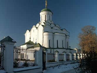 Maria Shvarnovna - The main church of the Princess's Convent that was founded by Maria Shvarnovna in Vladimir.