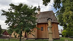 Wooden church of St. Leonard in Wojnicz