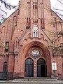 Kościół ewangelicki, ob. rzym.-kat. par. pw. św. Andrzeja Boboli, (22).JPG
