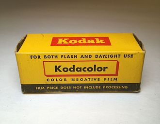 Kodacolor (still photography) - Kodacolor 120 Color Film (Expired: 1957)