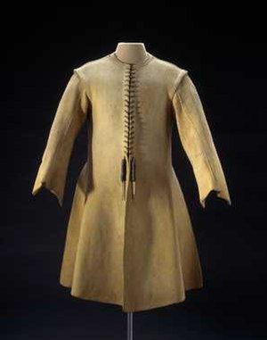 Gambeson - Men's Gambeson, ca. 1660-1670. Collection Centraal Museum, Utrecht.
