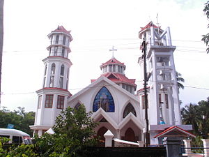 Roman Catholic Diocese of Quilon - New cathedral of Quilon at Tangasseri