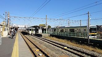 Komagawa Station - Image: Komagawa Station platform 1 south 20121121