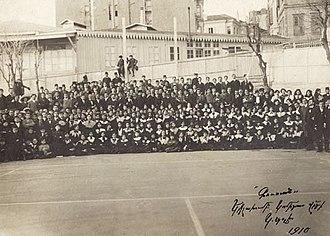 "Komitas - Komitas's ""Gusan"" choir in 1910"