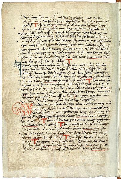 File:Konrad von Grünenberg - Beschreibung der Reise von Konstanz nach Jerusalem - Blatt 46v - 098.jpg