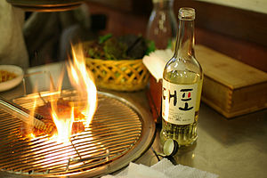 Korean alcoholic beverages - Daepo, a branded yakju