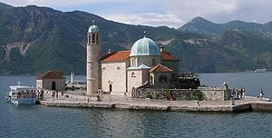 Kotor area Our Lady of the Rocks