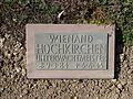 Kriegsopferfriedhof Kloster Arnsburg Grabstein Wienand Hochkirchen, Unterwachtmeister.JPG